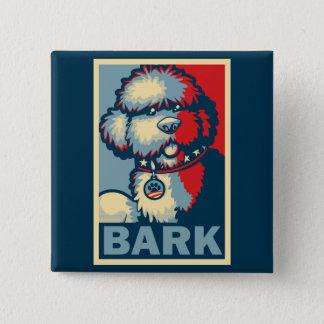 "Bo The Dog, Funny ""Obama HOPE"" Pinback Button"