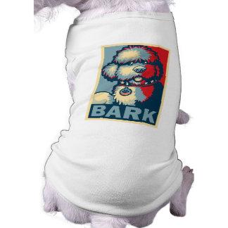 """Bo The Dog, Funny """"Obama HOPE"""" T-Shirt"""