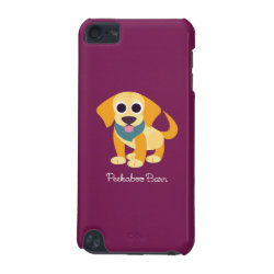 Case-Mate Barely There 5th Generation iPod Touch Case with Golden Retriever Phone Cases design