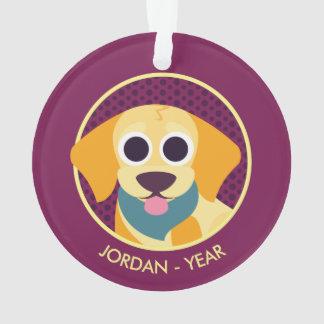 Bo the Dog Ornament