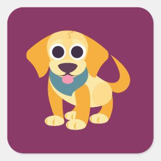 Bo the Dog Square Sticker