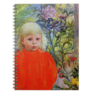 Bo with Peonies Notebook
