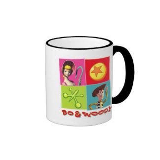 BO y Woody Disney Taza De Dos Colores
