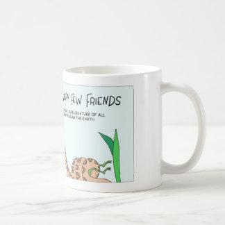 Boa constrictor has few friend coffee mug