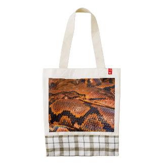 Boa Constrictor Zazzle HEART Tote Bag