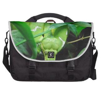 Boa esmeralda verde bolsa para ordenador