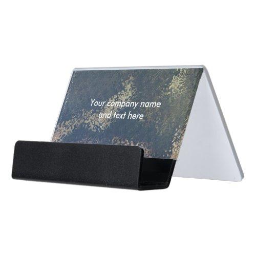 Boa Image Desk Business Card Holder