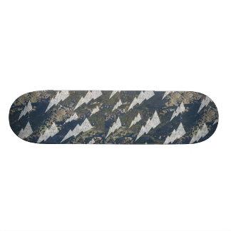 Boa Image Sparkling & Lightning Skateboard