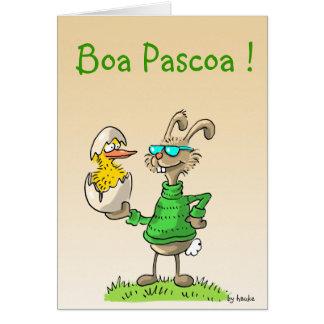 boa pascoa ! stationery note card