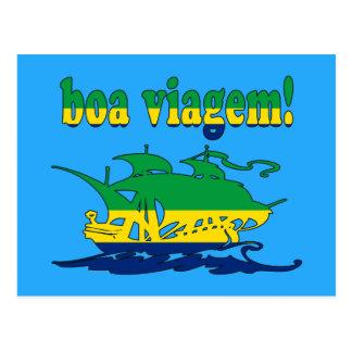 Boa Viagem - buen viaje en brasilen@o - vacaciones Postales