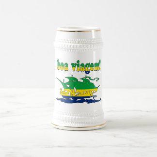 Boa Viagem - Good Trip in Brazilian - Vacations Beer Stein