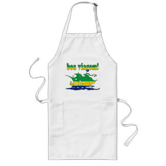 Boa Viagem - Good Trip in Brazilian - Vacations Long Apron
