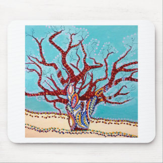 Boab Tree Bliss Mouse Pad