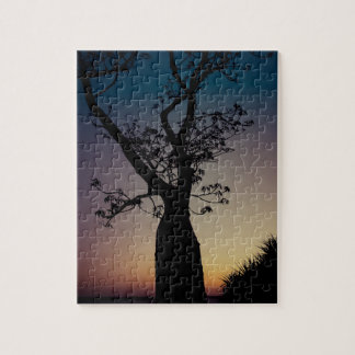 Boab tree silhouette puzzle