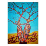 Boab Trees Poster