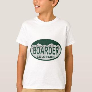 boader license oval T-Shirt