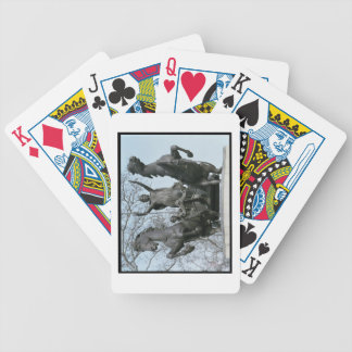 Boadicea, 1850s (bronze) (see also 33580) bicycle playing cards