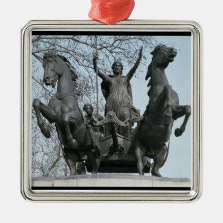 Boadicea, 1850s (bronze) (see also 33580) metal ornament