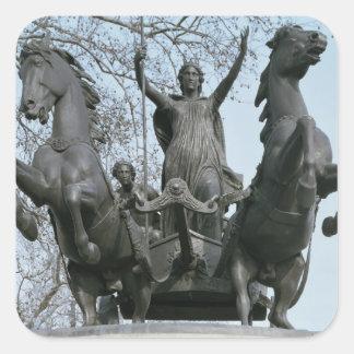 Boadicea, 1850s (bronze) (see also 33580) square sticker