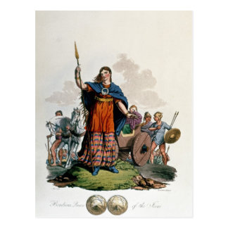 Boadicea, Queen of the Iceni Postcard