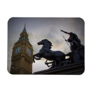 Boadicea Statue - Big Ben - London - Magnet