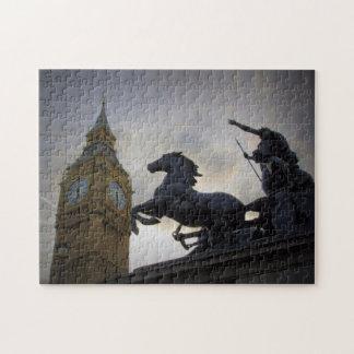 Boadicea Statue-Elizabeth Tower-London Puzzle