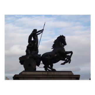 Boadicea Statue Postcard