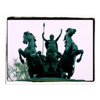 Boadicea Statue - Westminster Bridge - London Card