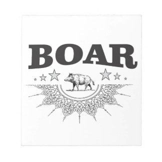 boar business yeah notepad