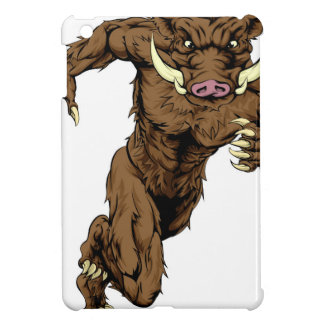 Boar character running cover for the iPad mini