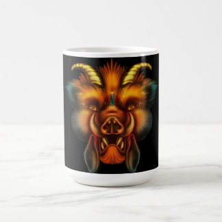 Boar Classic White Coffee Mug