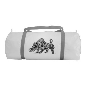 pacificstain Boar Gym Bag