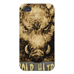 Boar Hairs iPhone 4/4S Cases