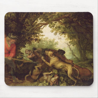 Boar Hunt, 1611 Mouse Pad