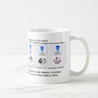 boar hunting coffee mugs
