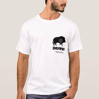 boar image R target, Down!, Bucknuts Hunting Cl... T-Shirt