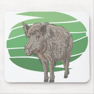 Boar Mouse Pad