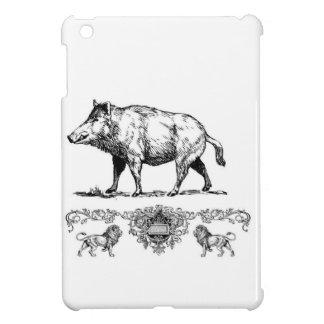 boar on a podium case for the iPad mini