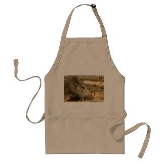 boar on standard apron
