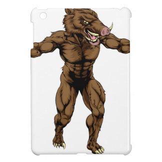 Boar scary sports mascot iPad mini cases