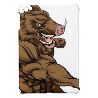 Boar sports mascot fighting case for the iPad mini