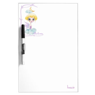 BOARD CARTOON fairy Dry Erase Boards