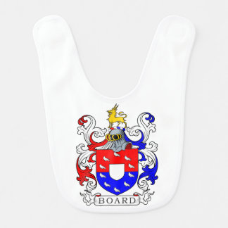 Board Coat of Arms II Baby Bib