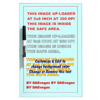 "Board Dry Erase Medium w/ Pen 12"" x 8"" Dry-Erase Whiteboards"