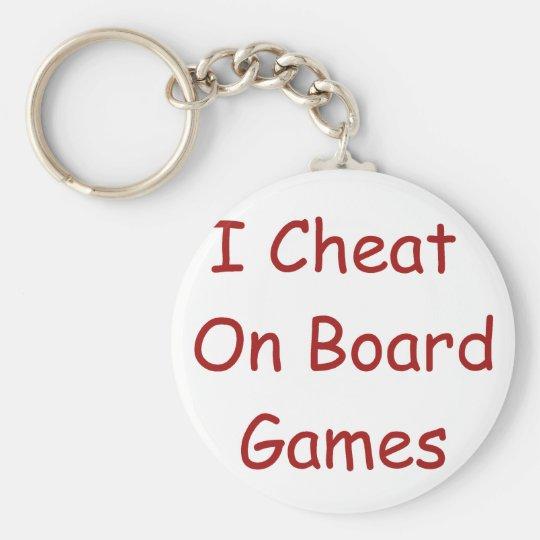 Board Game Cheater Keychain