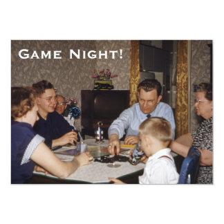 Board Game Night Card