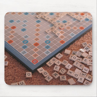 Board Game Tiles Mouse Pad