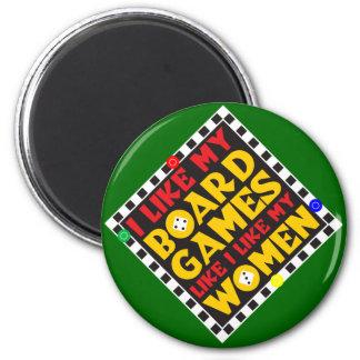 Board Games Fridge Magnet
