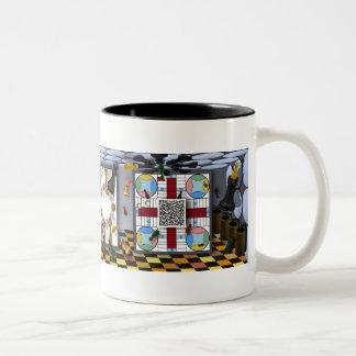 Board Games Two-Tone Coffee Mug