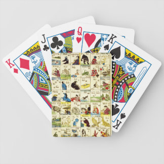 Board of Chinese alphabet Bicycle Playing Cards